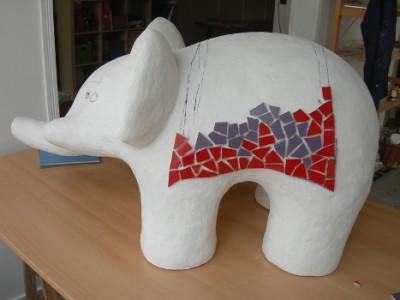 mozaieksculptuur